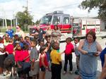Wildwood Elementary School students honor first responders