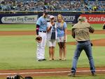 Connie Webb chosen Rays' bat girl