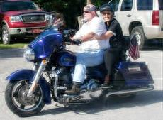 """<div class=""""source""""></div><div class=""""image-desc"""">""""At 95, she rode to church on the back of a motorcycle - it was something she always wanted to do,"""" said Brenda Shrewsbury of Wyoneen Dugger. She's shown here with Steven Gaylor, a family friend, as she gets her ride and church members await her arrival.</div><div class=""""buy-pic""""><a href=""""/photo_select/22864"""">Buy this photo</a></div>"""