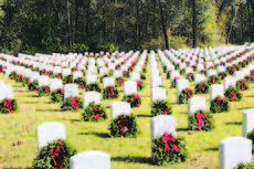 """<div class=""""source""""></div><div class=""""image-desc"""">Of the 100,000 graves at the Florida National Cemetery, 27,000 were able to have wreaths placed Saturday through the Wreaths Across America project. </div><div class=""""buy-pic""""><a href=""""/photo_select/22570"""">Buy this photo</a></div>"""
