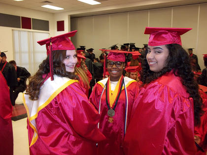 South Sumter graduated their Class of 2017 on Friday, May 26 - the following are images of the students as they waited for their ceremony. For additional photos, see the photo page in the  June 8, 2017 edition of the Sumter County Times.
