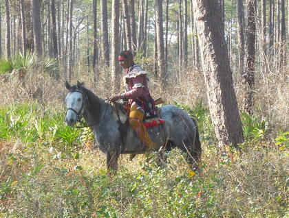 Dade Park Historic site hosted their annual reenactment of the 1838 battle between the United States military and the Seminoles, on the first weekend of January 2013. See the images from the event here and in the print edition of the Jan. 10, 2013 Sumter County Times.