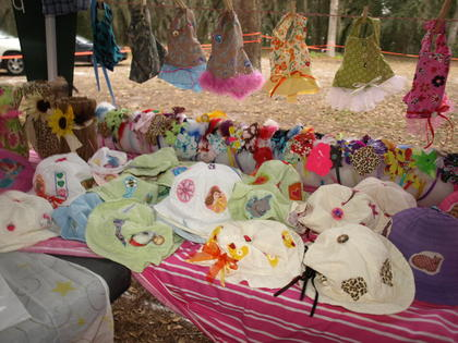 Paths of Grace hosted their first craft fair in December. The event drew several exhibitors with a variety of goods.