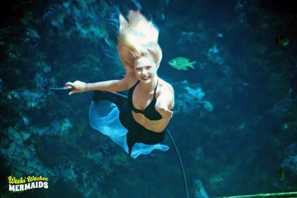 Mermaid Brittany Fussell, from Bushnell, performed her first show as a mermaid at Weeki Wachee Springs, recently. To read the full story, see the May 4, 2017 edition of the Sumter County Times.
