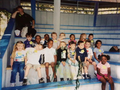 Read Mermaid Brittany's story in the May 4,2017 edition of the Sumter County Times. She's shown here (bottom left) with her kindergarten class when they went to Weeki Wachee Springs to see the mermaid show.