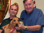 New K9 officer gets his name