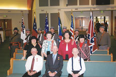 "<div class=""source""></div><div class=""image-desc"">Front row: David Bridges, Edward Sloan, Elmer Tillis; 2nd row: Delicia Wallnofer, Peggy Sloan, Carol Tomlinson, Gail Crosby; 3rd row: John Butler, Wayne Sweat, Troy Sweat, Dave King, Jeff Cotten, Bud Downing, Critter McDaniel, Art Davis. </div><div class=""buy-pic""><a href=""/photo_select/7789"">Buy this photo</a></div>"