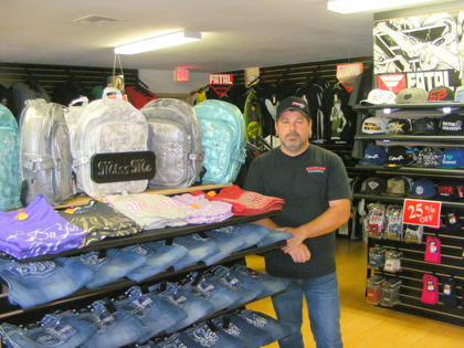 Business offers surprise, with skateboards, sporting goods and name brand apparel. For details on the local store, see the July 24 edition of the Sumter County Times in print. Subscribers can also find the story and photos in the complete electronic edition of the Times at www.sumtercountytimes.com