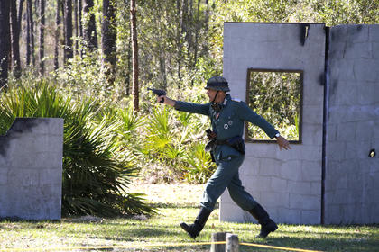 Dade Battlefield Historic State Park hosted their annual WW II weekend - the following are images from the event.